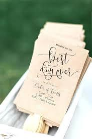 Fun Wedding Programs Emony Program Fan Template New Christian Wedding Programs In