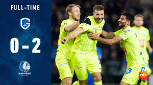 🎬 KRC GENK - KAA GENT: 0-2 (MD15 / JPL 2019-2020) - YouTube