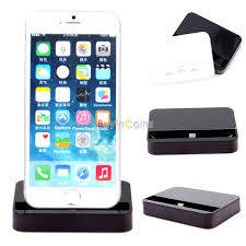 desktop charging dock stand station charger for apple iphone 6