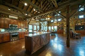 open concept pole barn house plans with