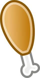 chicken leg clip art. Plain Art Chicken Leg Clip Art Intended Clip Art K