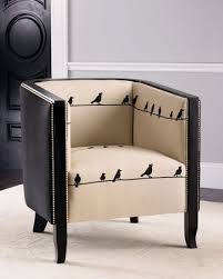 creative furniture ideas. i canu0027t resist a bird chair especially with birds on wire look find this pin and more creative furniture ideas e