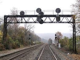 control of railking pennsylvania railroad signal bridge take action