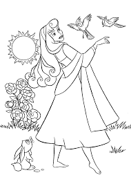 Small Picture Sleeping Beauty coloring pages for kids printable free Coloring