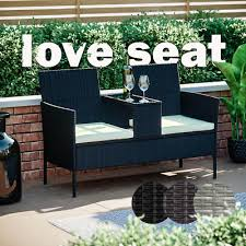 evre rattan outdoor madrid garden sofa