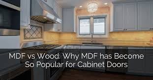 Kitchen Cabinet Painting Contractors Delectable MDF Vs Wood Why MDF Has Become So Popular For Cabinet Doors Home