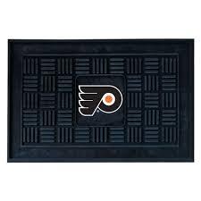 Philadelphia Flyers Bedroom Fanmats Philadelphia Flyers 18 In X 30 In Door Mat 11477 The
