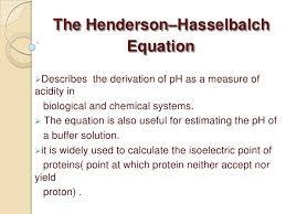 Henderson Hasselbalch Henderson Hassel
