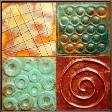 Metal Quilt Art >Metal Art Quilts>>Metal Tile Quilts>>Quilt Art & metal art tile Quilt Adamdwight.com
