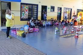 Educação Infantil também dá lição de trânsito seguro – O Paraná