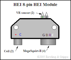 general motors pin hei ignition control