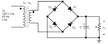 circuit diagram of full wave bridge rectifier the wiring diagram circuit diagram of full wave bridge rectifier capacitor circuit diagram