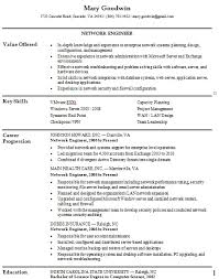 30 professional and well crafted network engineer resume samples entry  level network engineer resume - Entry