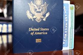 Stock Royalty American Resident Security Card Free Social Image Image Passport 72732728 Permanent And Photo Picture