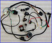 atv 110cc zeppy io complete electrics atv quad 50cc 70cc 110cc 125cc coil cdi harness wiring harn