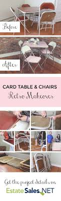 25+ unique Card table makeover ideas on Pinterest | Cheap folding ...
