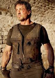 expendables 3 barney ross leather vest