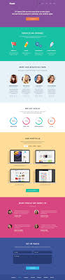 one page website template 100 trendy new landing page single page website app psd