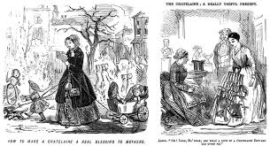 the killer mobile device for victorian women collectors weekly 19th century cartoons mocked the chatelaine s various uses for domestic women