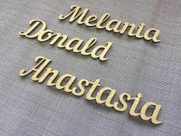 personalized wedding place cards gold laser cut place names wooden place cards wooden rustic centerpieces wedding wood place names