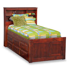 Bookcase Bedroom Furniture The Ranger Bookcase Bed Collection Merlot Value City Furniture