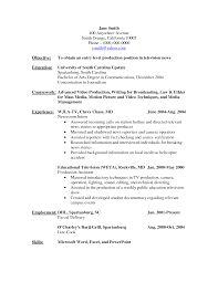 Video Production Resume Samples Video Production Resume Samples Prepasaintdenis 8
