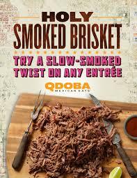 Qdoba Customer Service Qdoba Introduces New Slow Smoked Brisket Business Wire