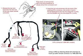 radio wire harness connectors faithfuldynamicsinternational com  at Jeep Wj Wiring Harness 2 Yellow Wires