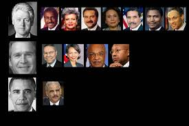 Obama And Cabinet Bush Clinton Still Lead President Obama In Black Cabinet Picks