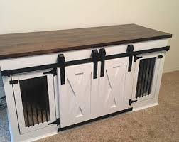 furniture pet crates. Media Console/Dog Kennel Furniture Pet Crates C
