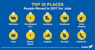 list of reasons for leaving a job top 3 reasons people are moving 2017 national movers study