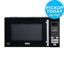sharp 900w standard microwave r372km black. de\u0027longhi 800w solo touch microwave p80q7a - black. from the argos shop on sharp 900w standard r372km black