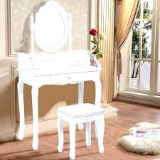 luxury makeup vanity. White Vanity Desk With Mirror Table Chair Large Makeup Lights Luxury