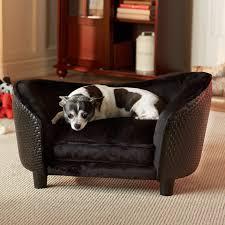 enchanted home pet ultra plush snuggle bed black basketweave com