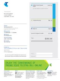 phone bill example telstra bill demos telstra