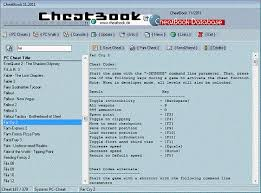 cheatbook database offline storage of game cheats cheat codes