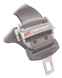 the cg lock clamps to the tongue of the driver s existing three point factory installed seat belt giving it the effectiveness of a four point harness