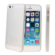 iphone 5s. ultra-thin protective case for iphone 5s / 5 - white iphone 5s