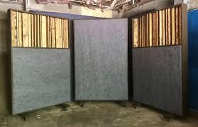 morton acoustic desk mounted office. DIY Acoustic Gobos W/ Diffuers Morton Desk Mounted Office