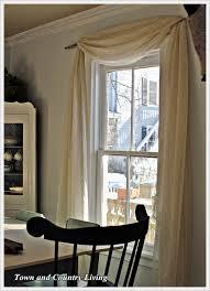 one dollar no sew curtains
