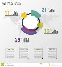 Pie Chart Design Abstract Pie Chart Graphic For Business Design Modern
