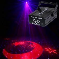 Star Light Laser Dancer Super Deal Aa29 3 Lens Rgb Laser Scanner Star Moon