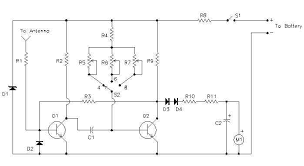 wireless auto tachometer this is the schematic of the tach