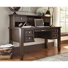 fascinating office desk armoire fireplace set of signature design ashley townser grey home office desk hutch with regard to office desk hutch custom home