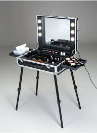 portable makeup mirror. best portable lighted makeup mirror stations slim station with adjustable light system o