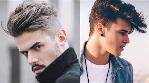 Men S New Fantastic Hairstyles 2017 Youtube