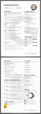 Resume Amazing Marissa Mayer Afbeeldingsresultaat Voor Cv Ideas