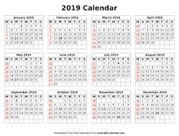 print a calendar 2019 printable blank 2019 calendar templates jsdo it share javascript