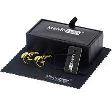 MeMolissa ekran kutusu kol düğmeleri moda G harfi kol düğmeleri kişilik adı  mektubu altın erkekler için kol düğmeleri ücretsiz etiket ve silme bezi|Tie  Clips & Cufflinks