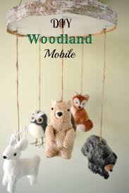nursery decor excellent baby nursery ornaments picture collections diy woodland mobile ornaments baby nursery